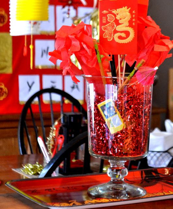 Chinese New Year Decoration Ideas For Home Part - 15: For Those Of You Who Want To Plan A Festive Party, Following 15 Awesome Chinese  New Year Party Ideas That Will Inspire You!