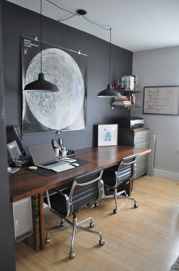 15 beautiful two seat workspace ideas | home design and interior