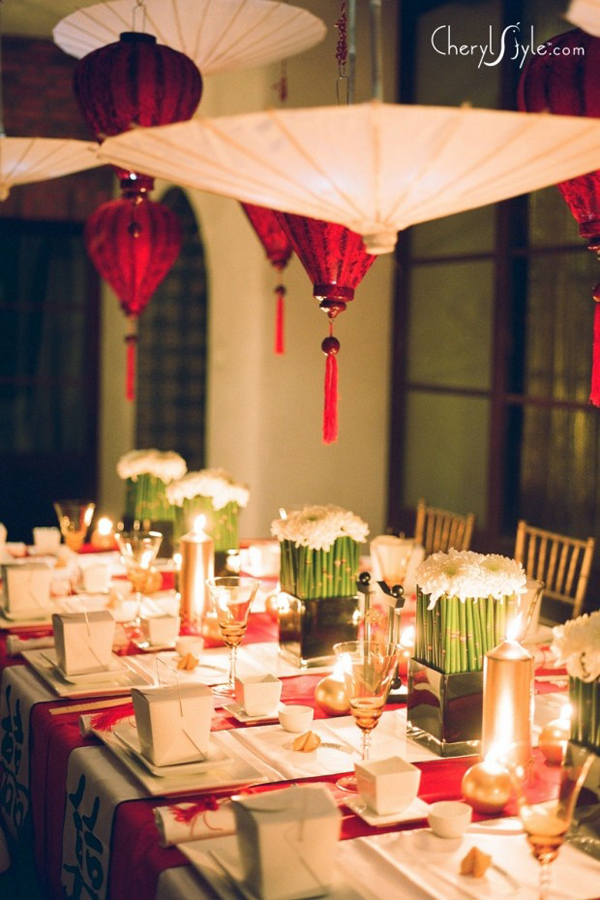 chinese new year dining decorations