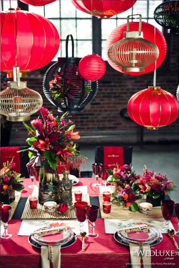 15 awesome chinese new year party ideas home design and for Chinese home decorations