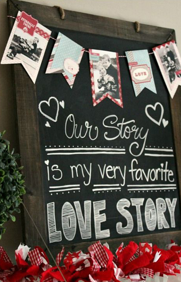 15 Romantic Chalkboard Ideas For Valentine S Day Home