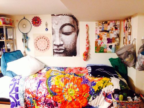 20 comfortable dorm room ideas home design and interior for Penn state decorations home