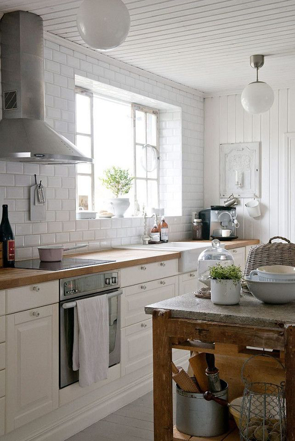 20 vintage farmhouse kitchen ideas home design and interior for Farm style kitchen designs