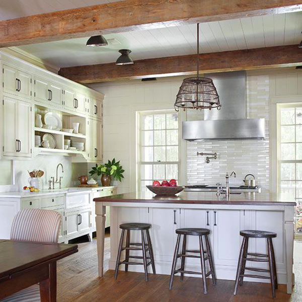 20 vintage farmhouse kitchen ideas home design and interior for Kitchen ideas farmhouse