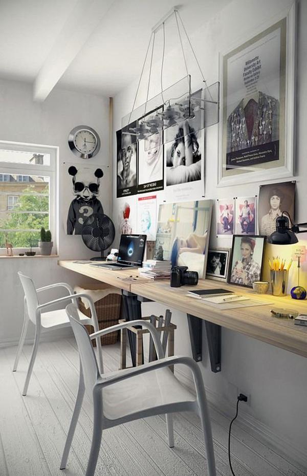 modern two workspace design - Design Workspace