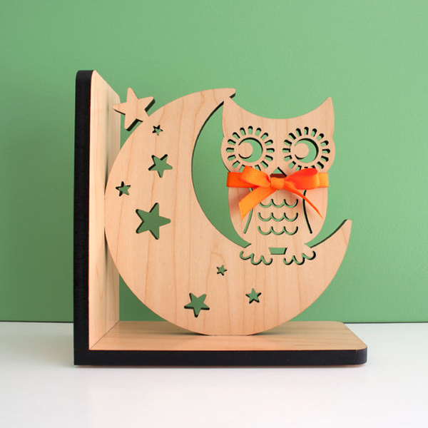 Night Owl Bookends For Nursery Room Home Design And Interior