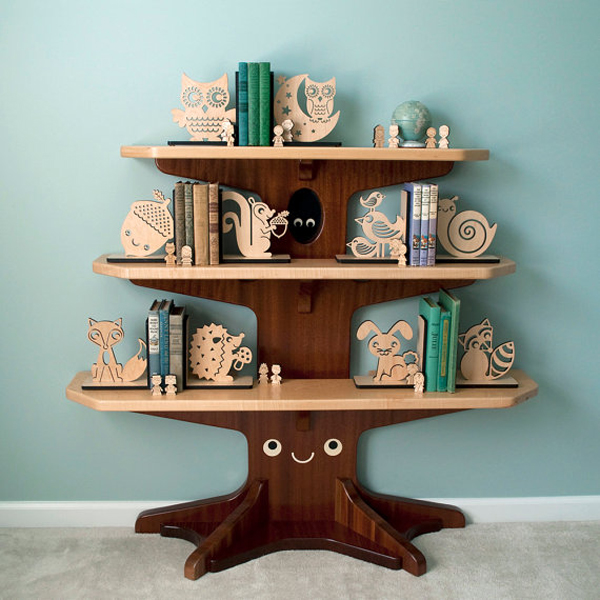 Night Owl Bookends For Nursery Room | Home Design And Interior