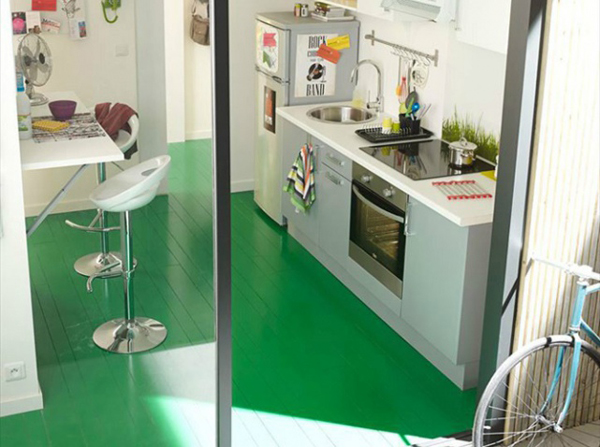 Green Kitchen Flooring Green Kitchen Flooring  Home Design