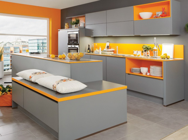 original kitchen with colorful ideas
