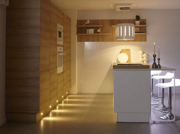 Original Kitchen With Lighting Floor Home Design And Interior