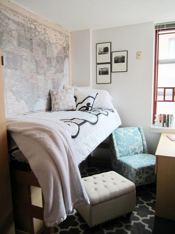 20 Comfortable Dorm Room Ideas | HomeMydesign