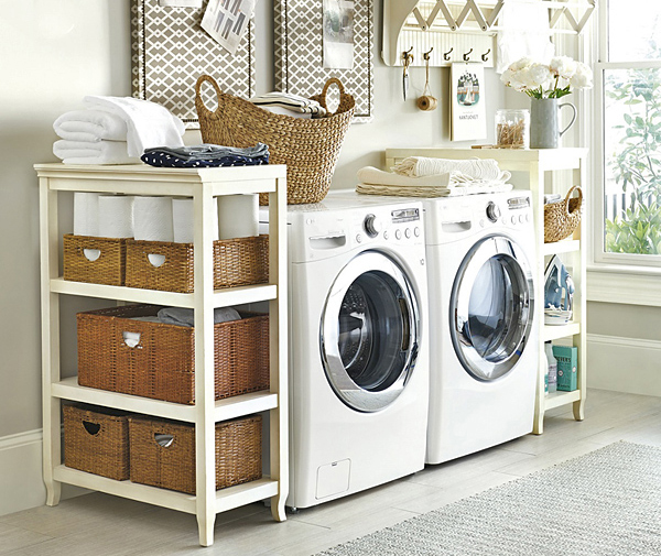 12 tiny laundry room with saving space ideas home design - Laundry room for small spaces ...