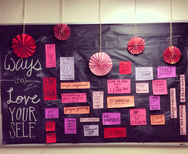 15 romantic chalkboard ideas for valentine's day | home design and, Ideas
