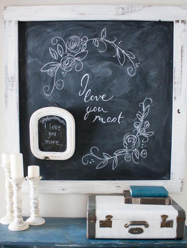 valentine chalkboard art - Chalkboard Designs Ideas