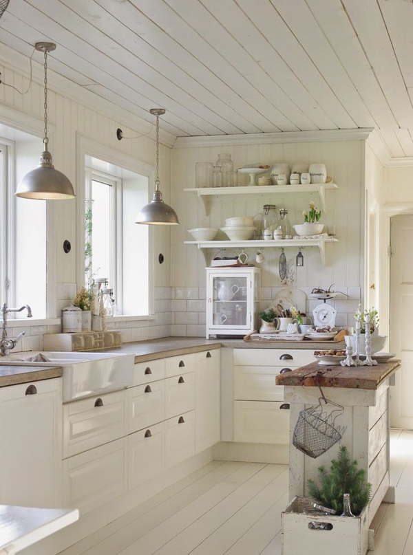 vintage farmhouse kitchen design