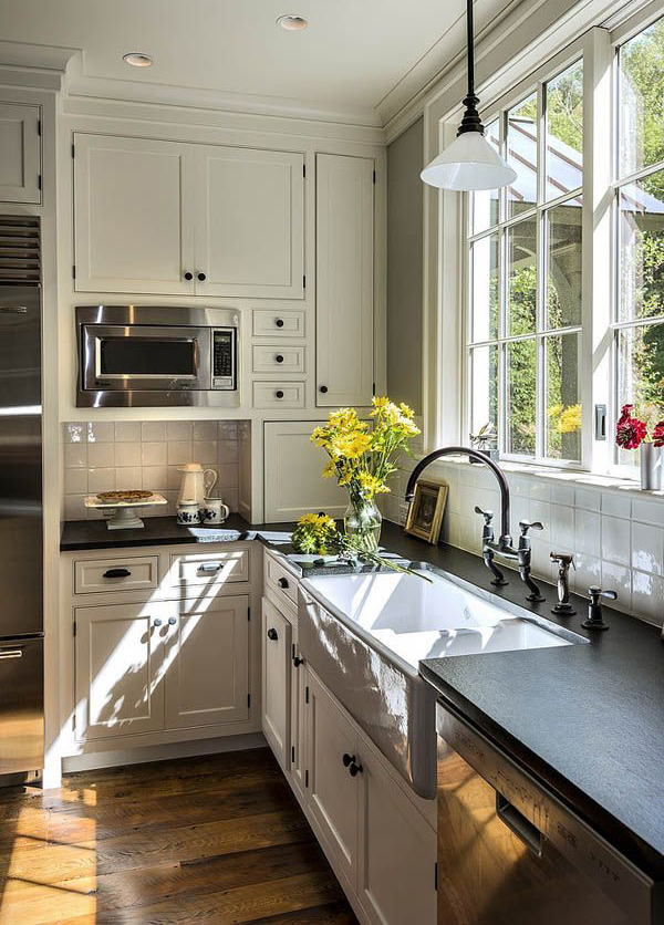 vintage farmhouse kitchen plans