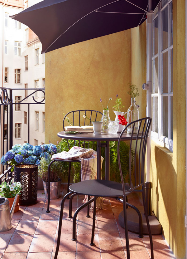 10 balcony design that inspire from ikea home design and - Ikea table balcon ...