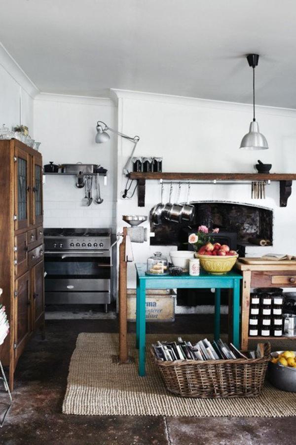15 Shabby Chic Bohemian Kitchen Ideas | HomeMydesign