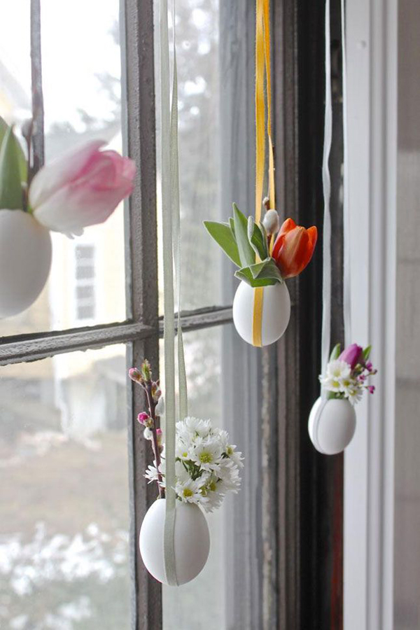Diy easter egg craft ideas for Diy easter decorations home