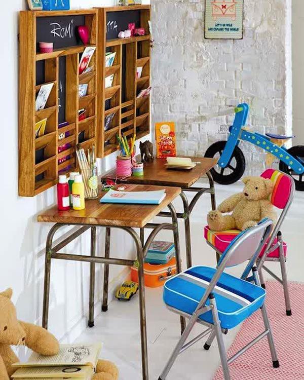 pretty-kids-desk-storage-ideas | Home Design And Interior