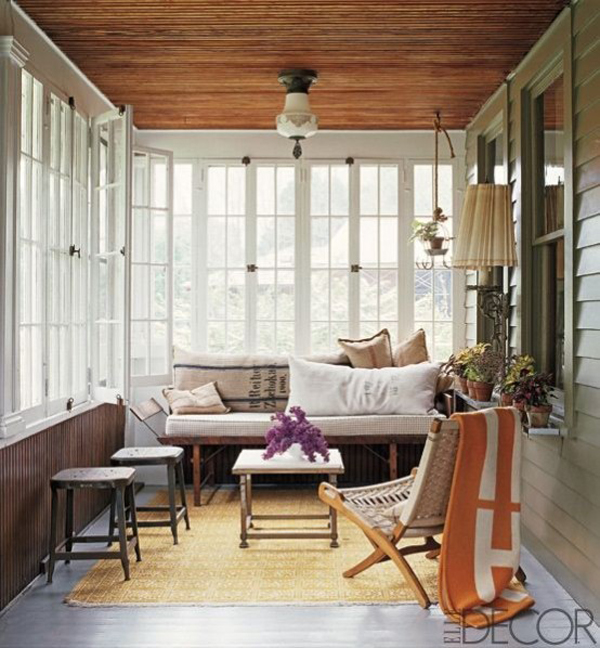 Enclosed Porch Decorating Ideas: 20 Small And Cozy Sunroom Design Ideas