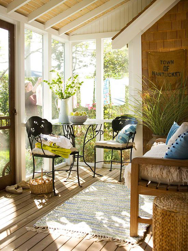 Small Sunroom Images 20 small and cozy sunroom design ideas | home design and interior