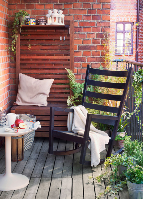 10 Balcony Design That Inspire From IKEA Home Design And