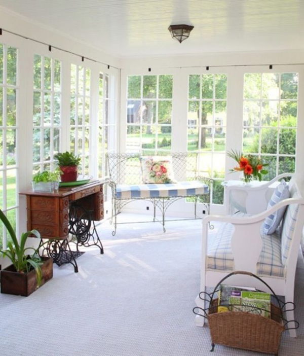 20 Small And Cozy Sunroom Design Ideas Home