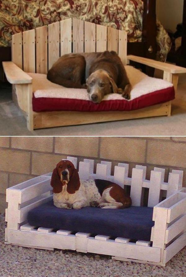 Wooden Dog Bed Ideas Homemydesign