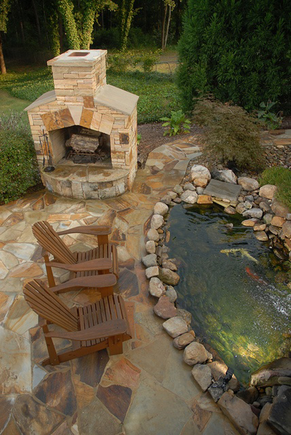 20 Beautiful Backyard Pond Ideas Home Design And Interior