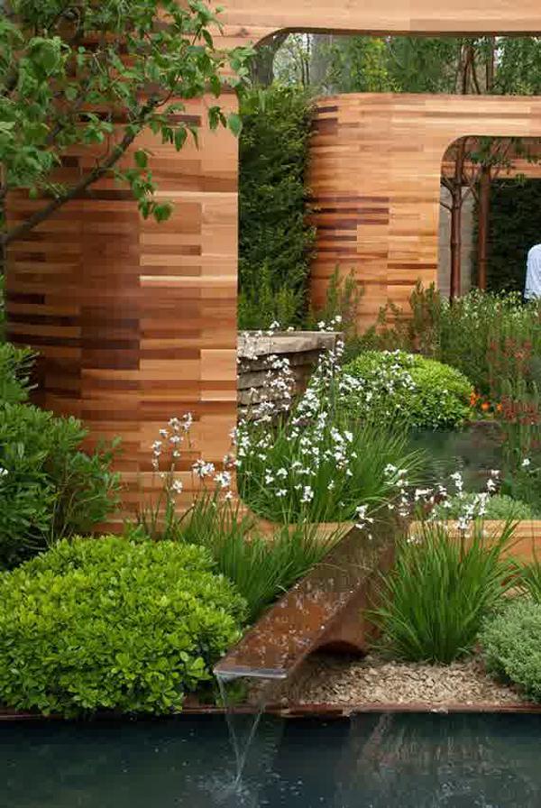 Cool backyard pond designs for Cool backyard ponds