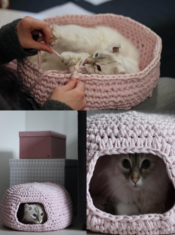 Crochet Patterns Pet Beds : ... canopy beds 25 cozy house beds frame for your kids rooms 10 unique