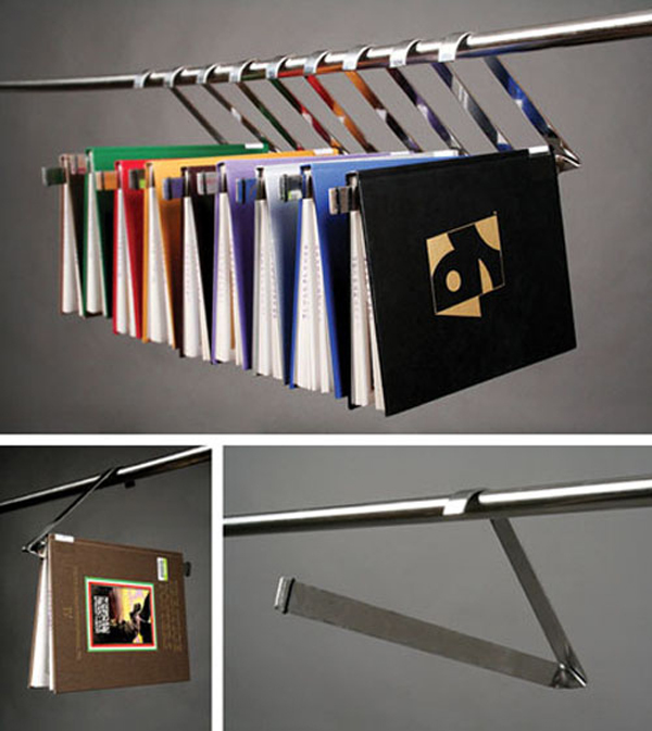 Hanging Binder Bookshelves