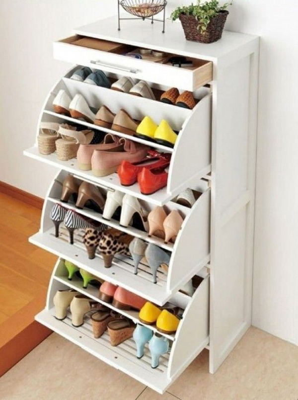 Closet Shoe Storage Solutions : Diy shoe storage solutions home design and interior