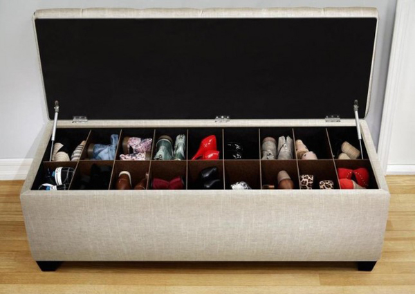 20 diy shoe storage solutions home design and interior for Armario zapatero amazon