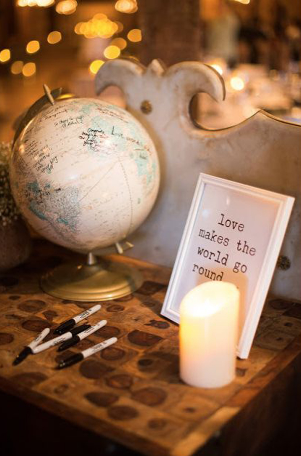 Wedding Travel Theme Around The World