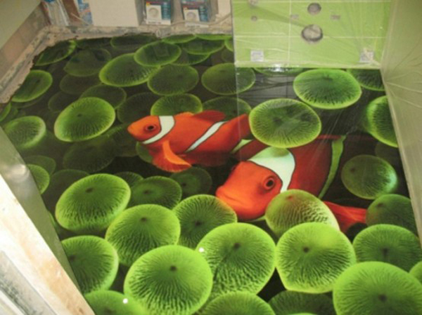 3d Ocean Epoxy Floors For Every Room Home Design And Interior