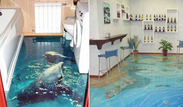 gallery of 3d ocean epoxy floors for every room