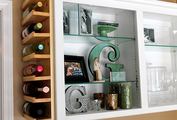 BuiltIn DIY Wine Storage Ideas Home Design And Interior - Diy wine storage ideas