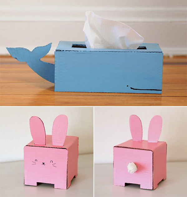 15 diy cardboard crafts in your decor home design and interior rh homemydesign com