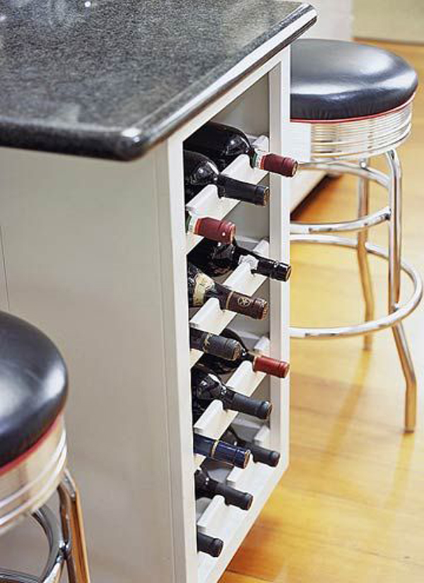 10 built in diy wine storage ideas home design and interior for Muebles de cocina vibbo