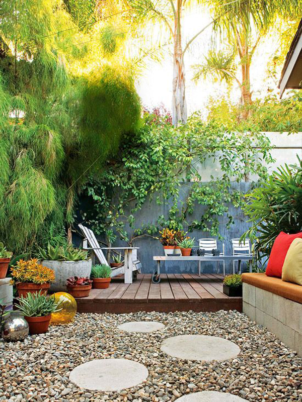 20 Small Backyard Garden For Look Spacious Ideas | Home ... on Small Outdoor Patio Ideas id=51621