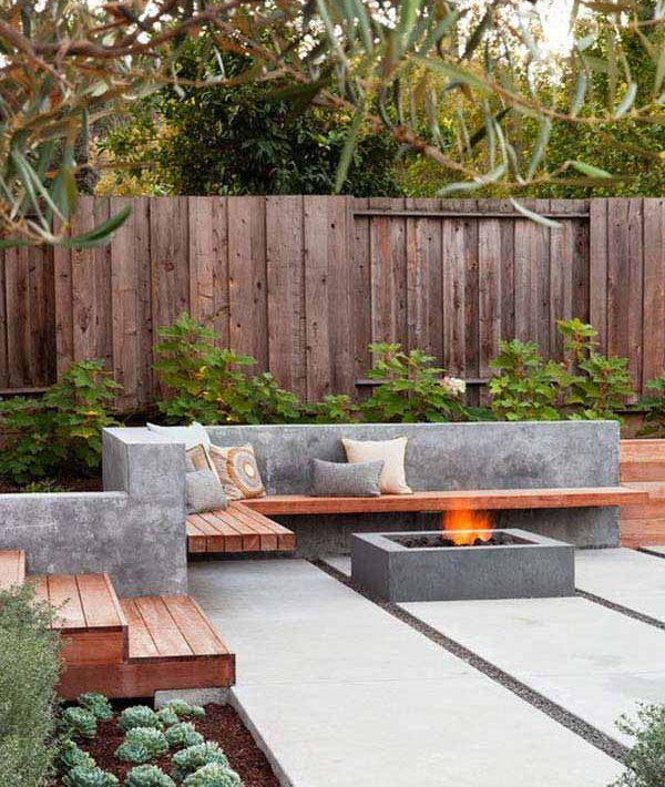 Cozy and simple small backyard design for Simple small backyard ideas