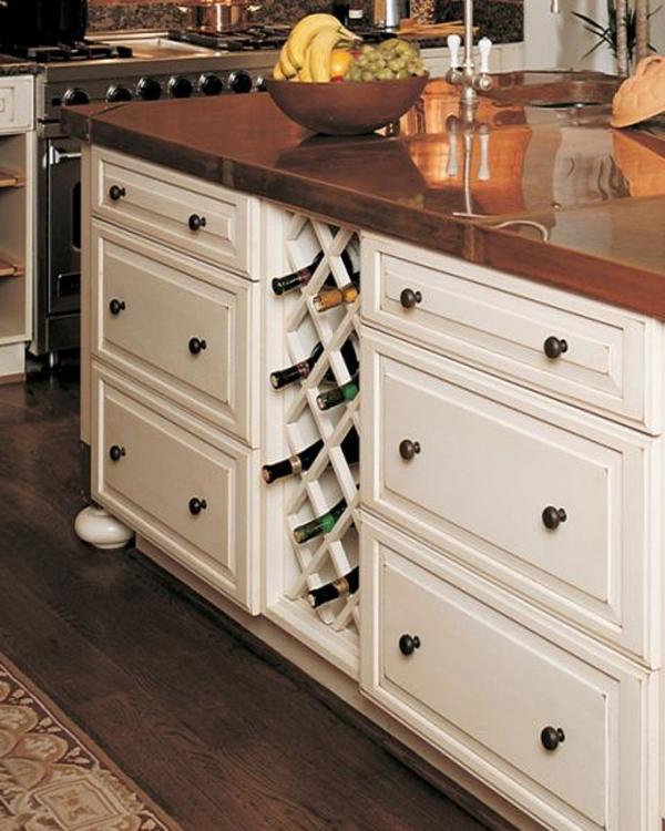 diy-built-in-wine-kitchen-rack | homemydesign