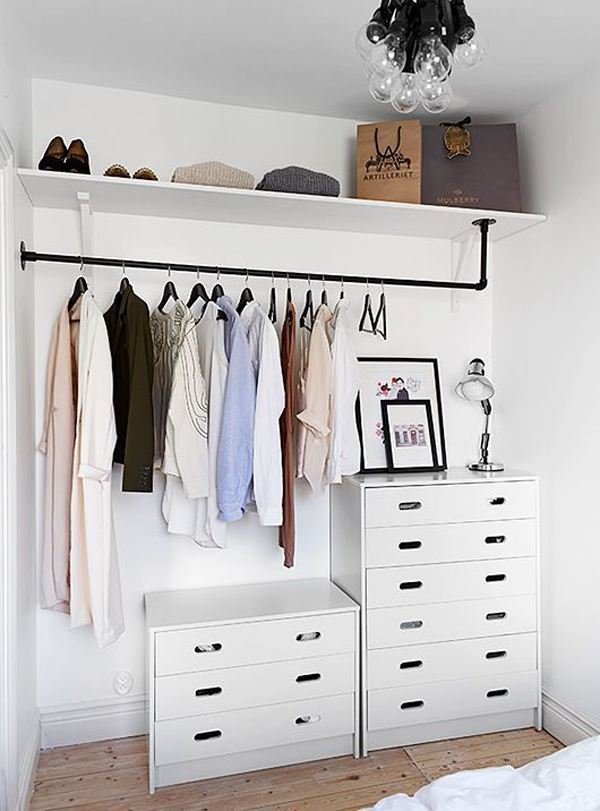 easy racks and storage rack track organize makeover shoe keep wardrobe organized closet laundry systems it a