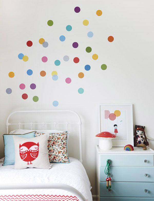 25 adorable polka dot interior ideas home design and for Dots design apartment 8
