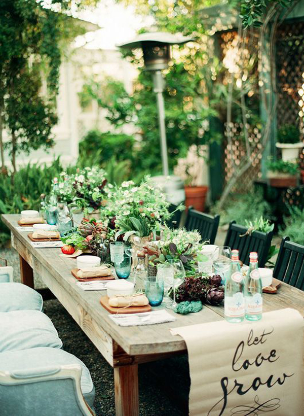 Bohemian Backyard Party : Gallery of 15 Outdoor Bohemian Dining Room Ideas