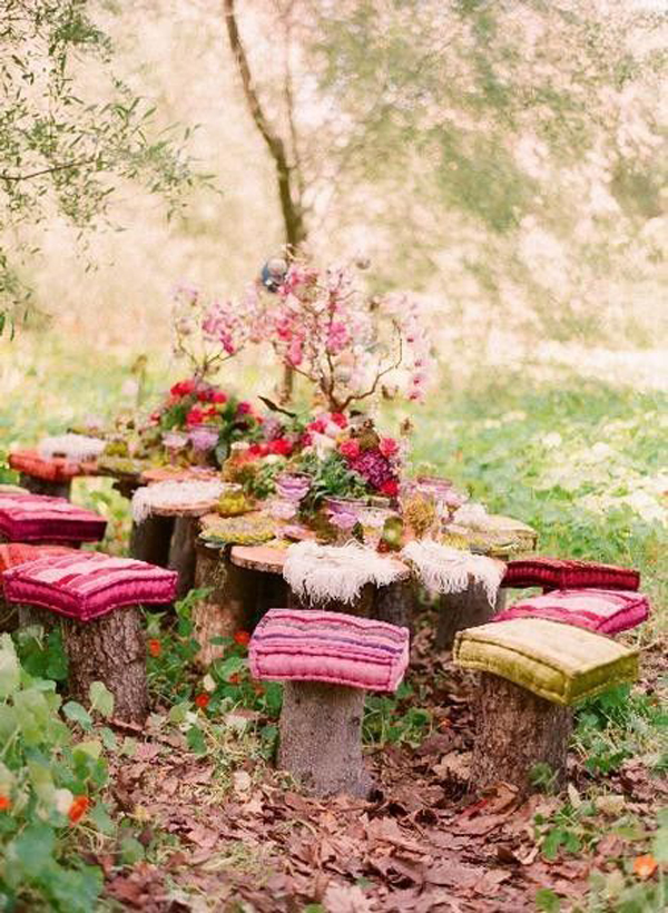 15 outdoor bohemian dining room ideas | home design and interior