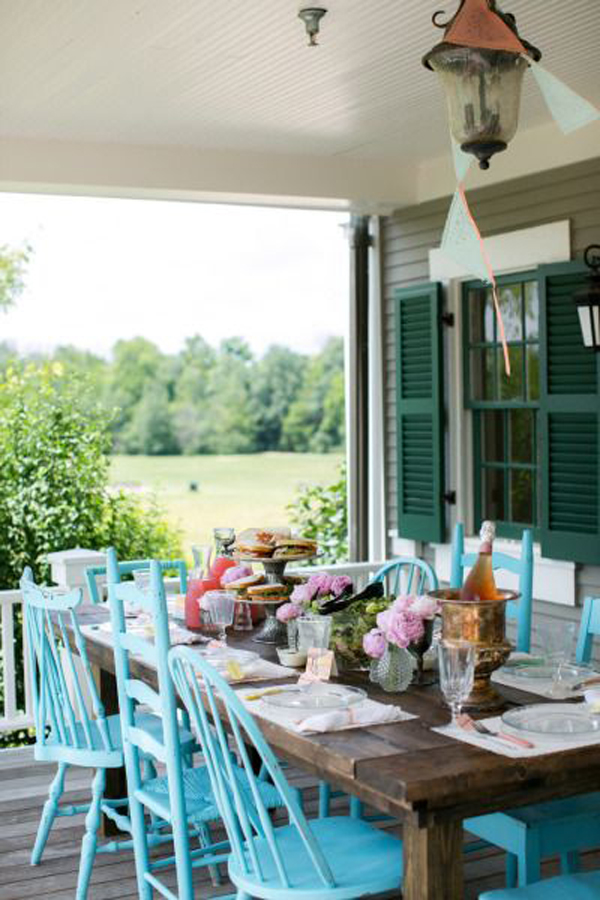 Boho Backyard Party : Backyard Dining Party Ideas Eatwell 101 Pictures to pin on Pinterest