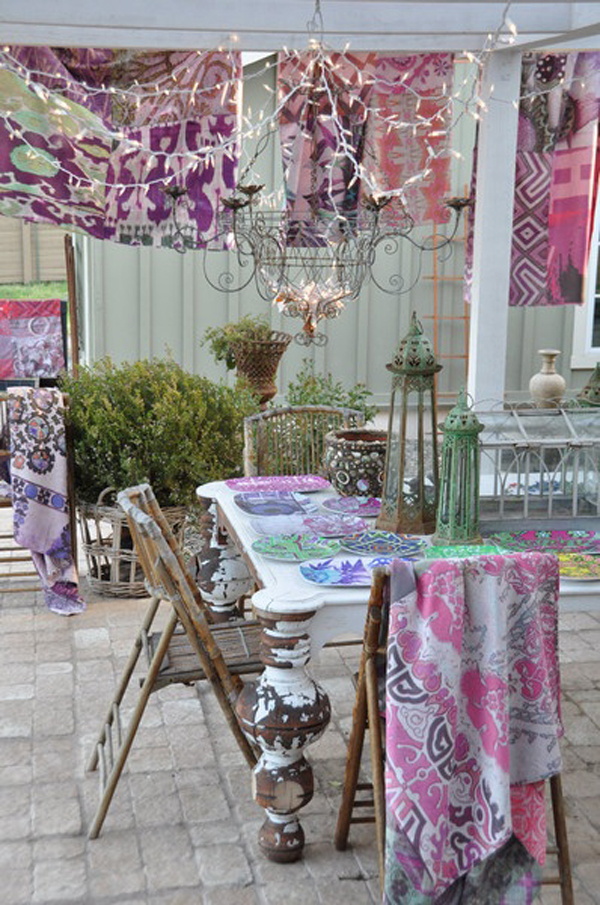 15 Outdoor Bohemian Dining Room Ideas Home Design And Interior